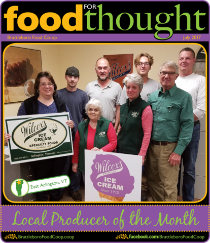 2017 July Food For Thought Cover