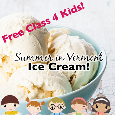 Summer in Vermont: Ice Cream