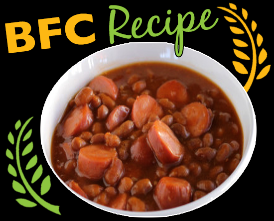 Vegan Tofurkey Franks & Beans