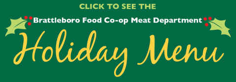 Click for Holiday Meat Menu