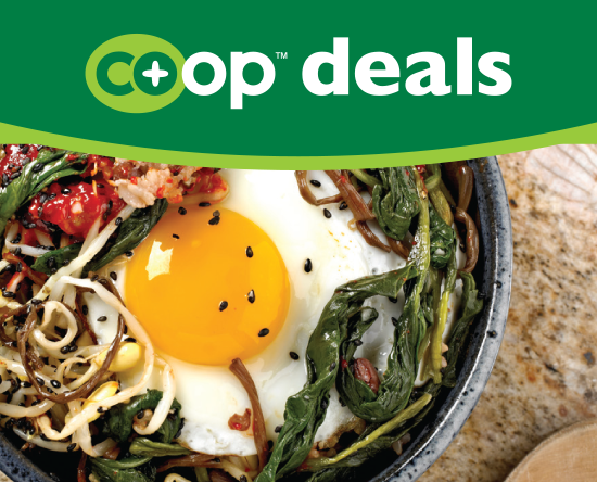 Co+op Deals Recipe Bibimap