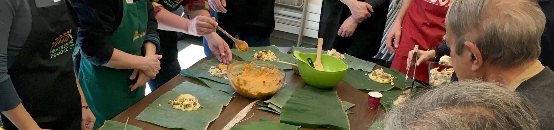 A free adult class on making tamales