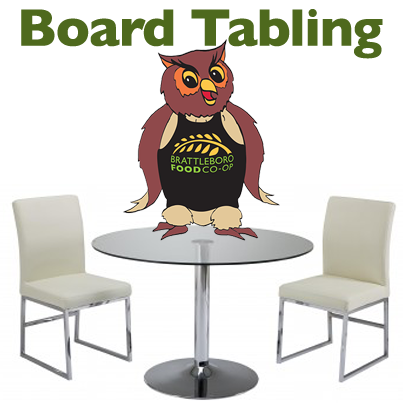 Board Tabling in the store