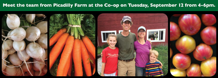 Picadilly Farm, September 2017 Producer of the Month