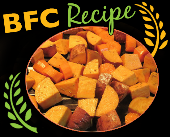 Apple Roasted Sweet Potatoes & Squash