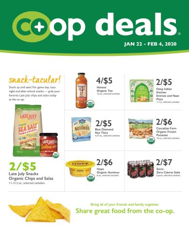 Co+op Deals Sales - January 21 - February 4, 2020