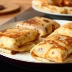 Recipe for Blintzes Stuffed with Sweetened Ricotta
