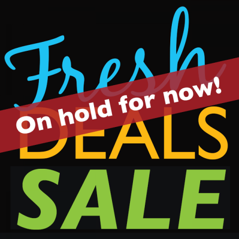 Fresh Deals Flyers on Hold