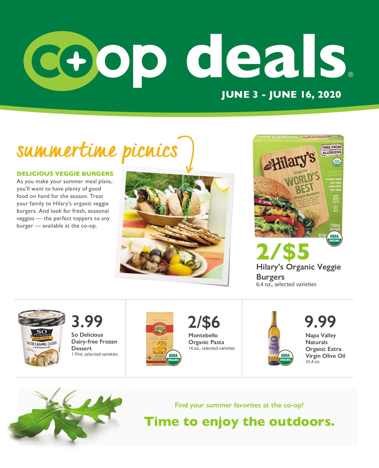 Co Op Deals Sales Flyer Jun 3rd 16th 2020 Brattleboro Food Co Op