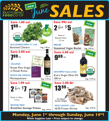 New June Sales 2020