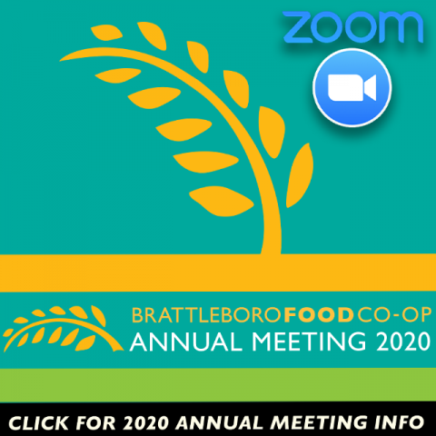 Annual Meeting Information link 2020