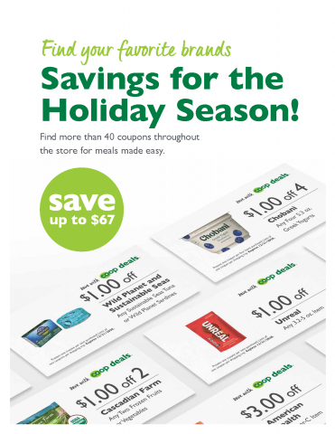 Co+op Deals Discover Coupon Savings for the Holiday Season