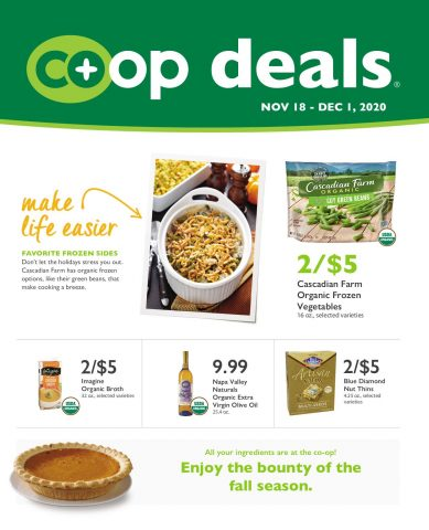 Co+op Deals Sales Circular November 18 - December 1