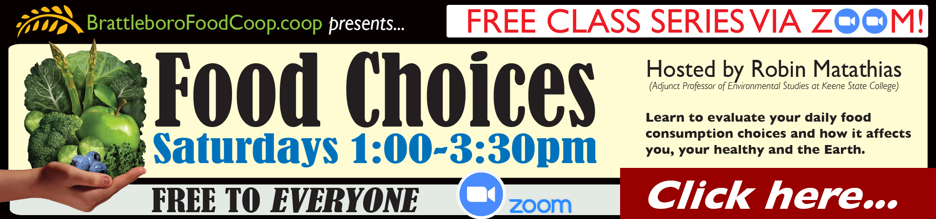 Food Choices Free Class Series