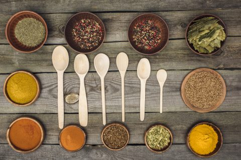 A Teaspoon, a Tablespoon, a little, alot, a pinch or a pound, in the Bulk Deparment