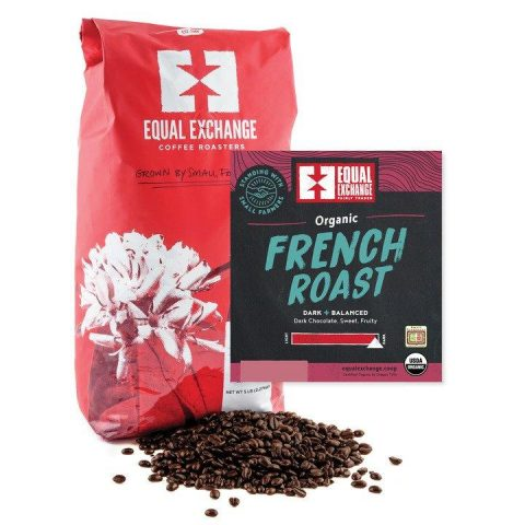 Equal Exchange Organic French Roast Coffee/Whole Bean