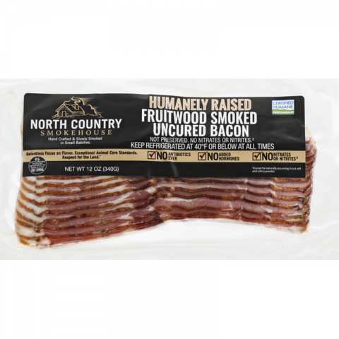 North Country Smokehouse Uncured Bacon