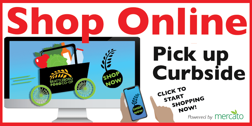 Click to read more about our Curbside Pickup program and start your online order for pick up at the Coop