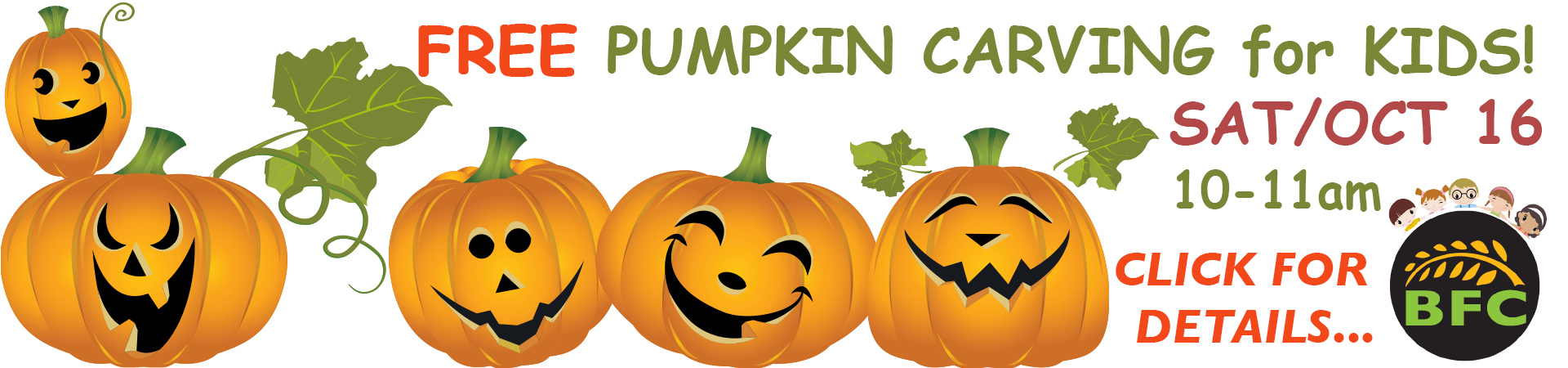 Pumpkin Carving Event at the Co-op